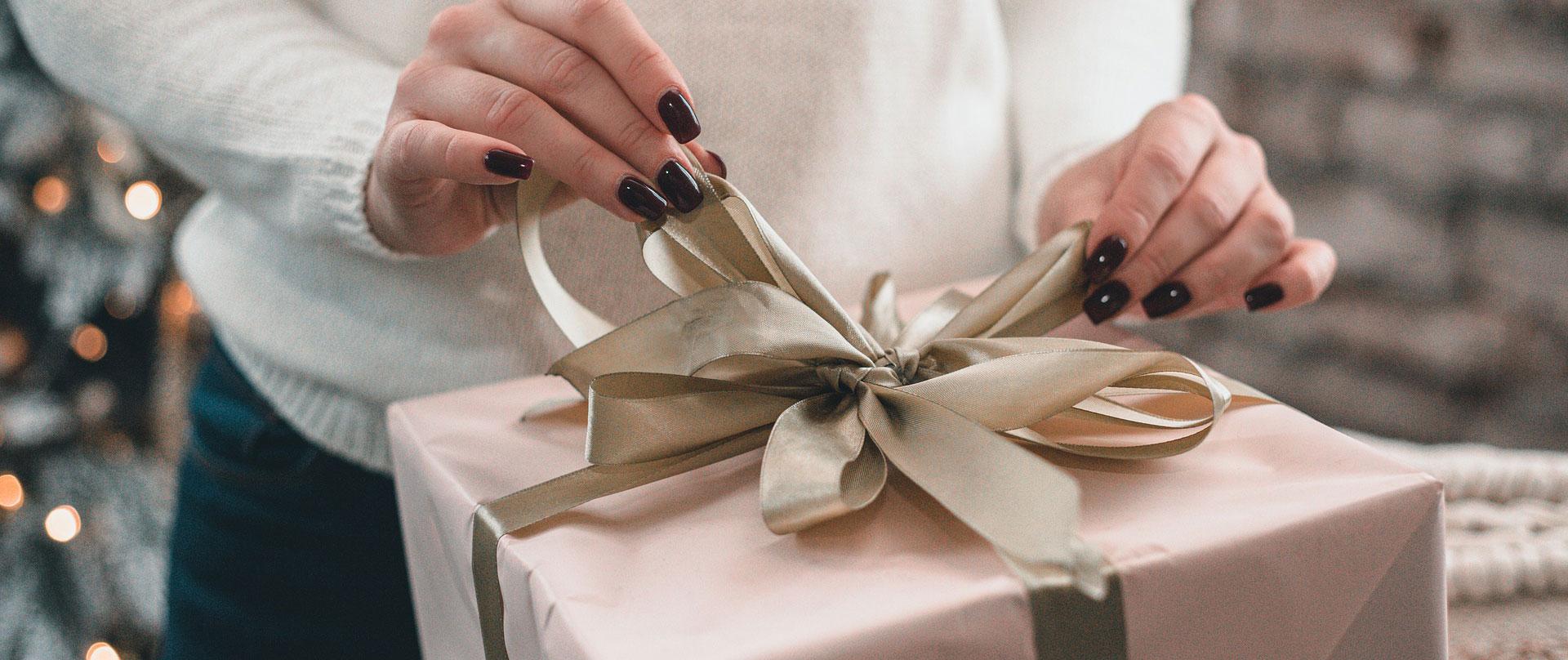 cómo hacer un regalo a alguien especial