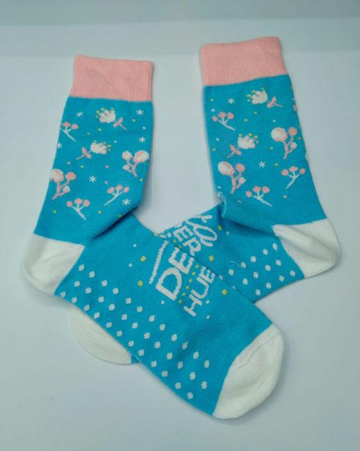 calcetines mujer deja huella