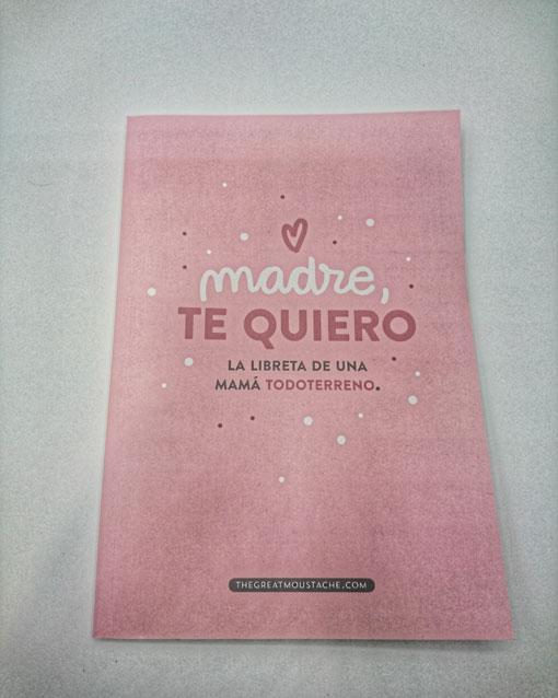libreta para regalar a mi mama